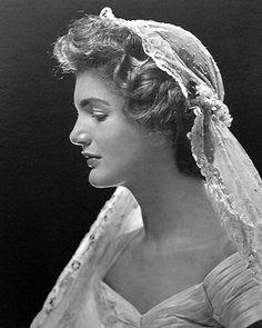 Jacqueline Kennedy, bride.
