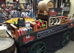Hola Paella is in Covent Garden Market Building.