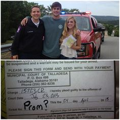 Got pulled over and got asked to Prom! @mitch_j #yesyesyes #prom2013  #soscary #cops