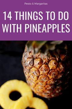 Pineapples are an instantly recognisable tropical fruit with loads of goodness. Pineapple nutrition means it is worth finding a way you enjoy eating them even if you aren't a fan. Here are 14 things to do with pineapples to help you find a favourite pin Sangria Recipes, Fruit Recipes, Smoothie Recipes, Smoothies, Savoury Recipes, Juice Recipes, Easy Recipes, Recipies, Fresh Pineapple Recipes
