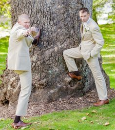 Groom and best man!