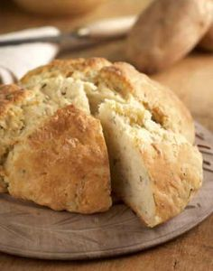Irish potato bread.  For a great recipe, have a look at http://www.irish-expressions.com/irish-potato-bread.html.
