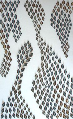 patternprints journal: SUGGESTIVE PATTERNS IN CARVED PAPER BOARDS BY LISA RODDEN