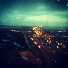 Uitzicht vanuit het Fletcher hotel