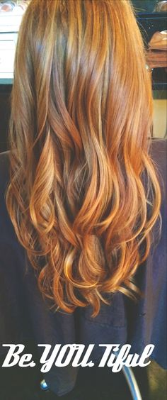 Natural Red Hair With Highlights And Lowlights