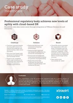 Case Study: Professional regulatory body achieves new levels of agility with cloud-based DR - Xtravirt de-risks data centre move through integration of VMware Horizon Air and vCloud Air