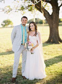 Texas Bohemian Wedding at Longhorn River Ranch