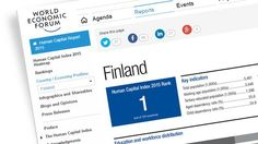 Finland at the top of WEF's Human Capital Index