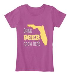 10% OFF using this link http://teespring.com/drink-beer-from-florida?pr=GET10