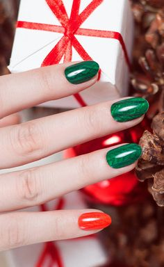 Sweater Weather, nail wrap, Christmas, holiday