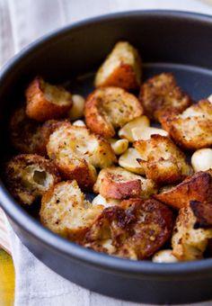 DIY: making homemade croutons