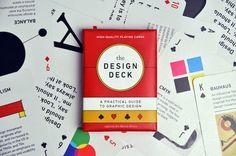 baraja gráfica the design deck, ben barrett-forrest, 2014.