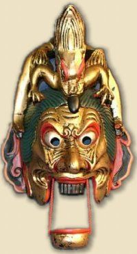 Japanese Masks | Dragons, Dragon Art, and Dragon Lore in Japan, Buddhism & Shintoism ...