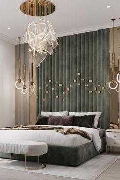 Modern Luxury Bedroom, Master Bedroom Interior, Luxury Bedroom Design, Bedroom Closet Design, Bedroom Furniture Design, Home Room Design, Luxurious Bedrooms, Home Decor Bedroom, Interior Design