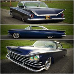 1959 buick kustom by adam's rotors inc. | '59 LeSabre on a '76 Electra chassis | bagged, flaked, nosed, decked, & shaved, w/paneled roof & dash.