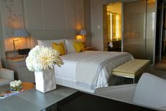 A suite at Toronto's new Four Seasons