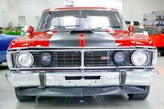 1971 Ford Falcon XY GT Track RED Manual 4SP M Sedan in NSW   eBay