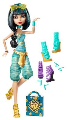 Monster High Cleo De Nile Doll & Shoe Collection Mattel http://www.amazon.com/dp/B00CEQ1LYC/ref=cm_sw_r_pi_dp_OEa0tb0A0GB7R8F3