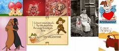 προσφέροντας μια κάρτα την ημέρα του Αγίου Βαλεντίνου...