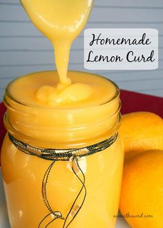 Homemade Lemon Curd - nothing artificial, use organic ingredients, save this recipe for those special holiday desserts.