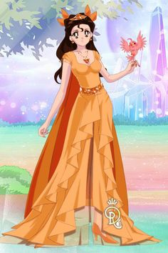 Belle: Citrine by Dawnfire1 ~ Sailor Moon Dress Up