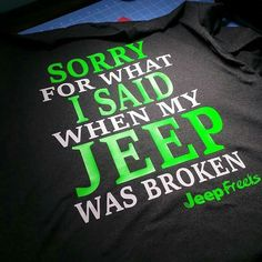 Jeep shirt                                                                                                                                                                                 More