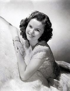 ca. 1940's - Actress Shirley Temple