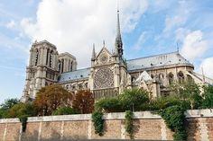 #Нотр #Дам #де #Парі, #Париж, #Франція.