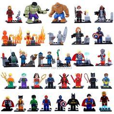 Sensible Single Legoing Marvel Super Heroes Deadpool Wolverine Tree Man Rocket Raccoon Figures Building Blocks Bricks Gift Toys Children Easy To Use Model Building