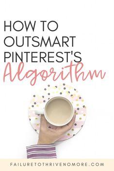 How to Outsmart Pinterest's Algorithm #PinterestMarketing #PinterestTips #Marketing #BlogTips #pinterestvirtualassistant #blogging Pinterest For Business, Virtual Assistant, Make Money Blogging, Pinterest Marketing, Online Business, How To Start A Blog, About Me Blog, Social Media, Website Images