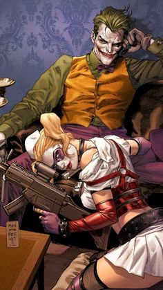 Harley Quinn ❤️ Joker