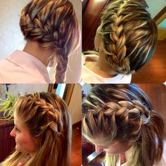 Braids! Check out our fabulous braid of the week! Visit us on facebook for more beautiful braids! https://www.facebook.com/EnlivenSpaSalon?ref=hl