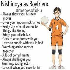 Haikyuu Kageyama, Haikyuu Funny, Haikyuu Manga, Hinata, Nishinoya Yuu, Anime Character Drawing, Cute Anime Character, Boyfriend Humor, Anime Boyfriend