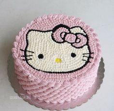 Hello kitty cake   Lulukayla cupcakes