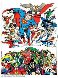 DC Super Heroes.