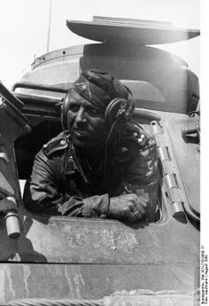 a German tank crew, August, 1942, steppes outside of Stalingrad.  Can he survive the war?