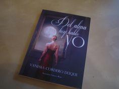 """Francisco Chamizo, no se esperaba que le tocara el libro """"Del alma hoy hablo yo"""" de nuestra escritora favorita Vanessa Duque Cordero"""