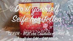 Seife selber gießen / Cosmetic Kitchen Set (DM) / Anleitung / Glycerinseife / Idee / Geschenke basteln