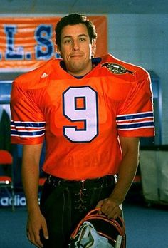 One of my FAVORITE Adam Sandler movies..The Waterboy <3