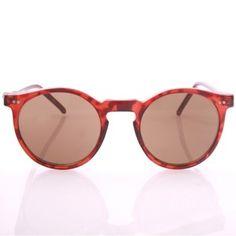 "UNISEX Classic Round ""O'Malley"" Sunglasses / American Deadstock Vtg Optical 80's"