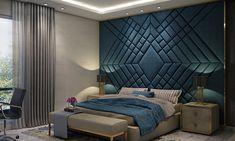 Luxury Bedroom Interior Design by Luxury Interior Designer in Noida Master Bedroom Interior, Luxury Bedroom Design, Modern Master Bedroom, Master Bedroom Design, Luxury Interior Design, Luxury Kids Bedroom, Bedroom Furniture, Bedroom Decor, Bed Back Design