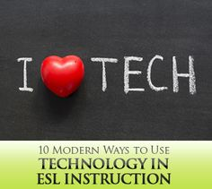 If you have problems integrating technology in the classroom, these will give you starting ideas of ways to use technology for ELLs.