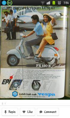 .. Piaggio Vespa, Lambretta Scooter, Vespa Scooters, Scooter Garage, Vespa Px 150, Classic Vespa, Vintage Ads, Vintage Vespa, Vespa Girl