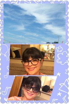 #Todays Eyewear #Chanel & Todays Sun Eyewear by #Chrome Hearts  & Todays Sky on my day off ! #todays sky