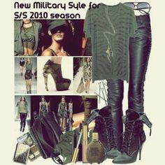 Military Style : แฟชั่นสไตล์อาร์มี ~ Trends