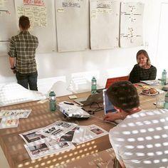 Der unglaubliche Damian live in Aktion: #website #redesign #workshop