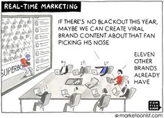 Marketoonist is the thought bubble of Tom Fishburne. Marketing cartoons, content marketing with a sense of humor, keynote speaking. Social Media Marketing, Digital Marketing, Power Out, Brave New World, Funny Memes, Humor, Competitor Analysis, Cartoons, Growth Hacking