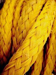 ,yellow texture rope