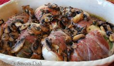 Chicken Spinach and Prosciutto Bundles #AmeesSavoryDish