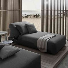 Montecarlo Sunlounger by Exteta from Pure Interiors |